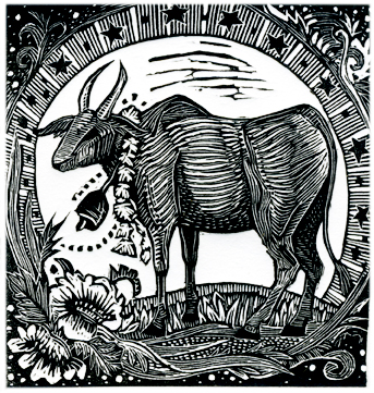 Year of the Ox Print Edition by Johanna Mueller