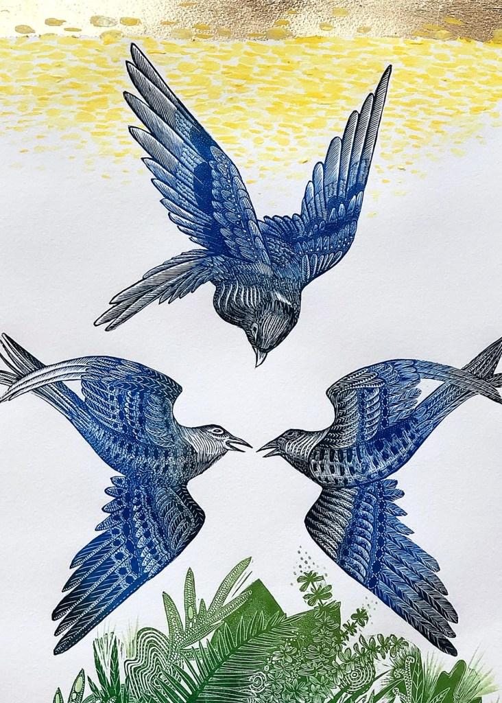 Birdsong-Golden-Melody-By-Johanna-Mueller