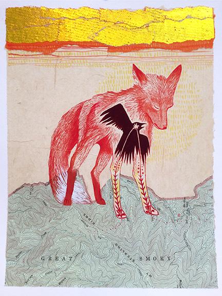 Fox-Golden-Journey-by-Johanna-Mueller