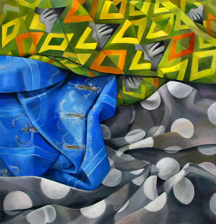 01_Dream Drones_56_x 54_oil on canvas