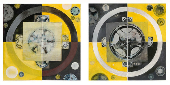 driven_Hubcap-Mandalas-I_6x16-inches-each2007