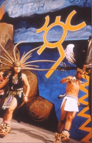 Gabrielino Nation dancers
