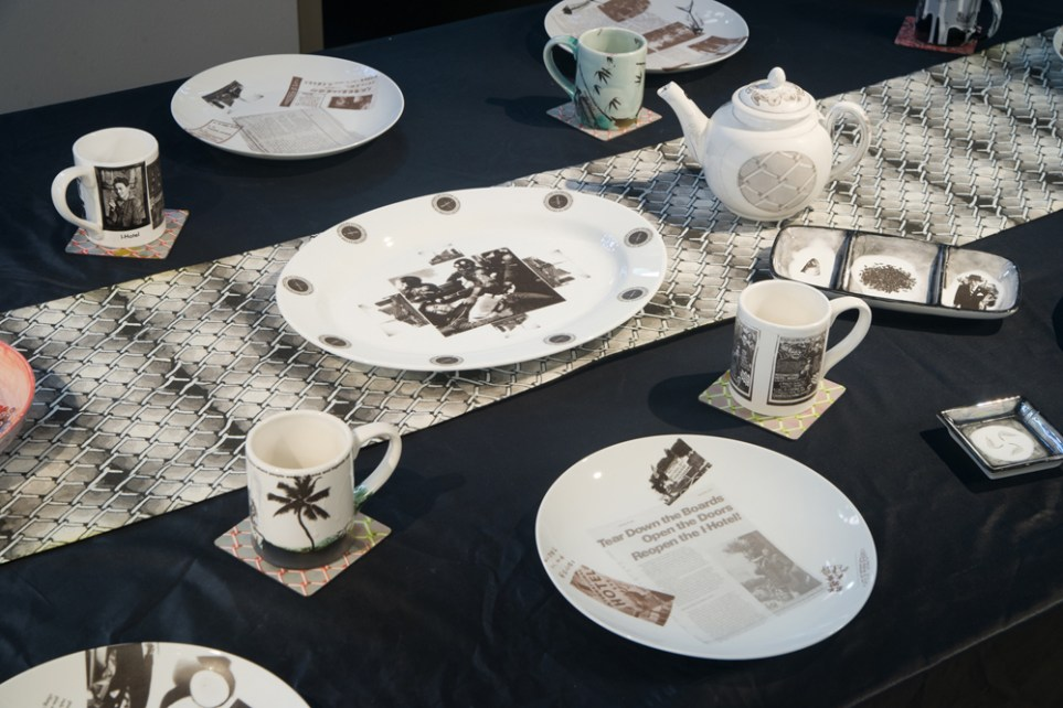 Placesetting Table-of-History-close-up