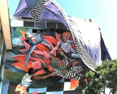Harvey Milk Mural curtail wind