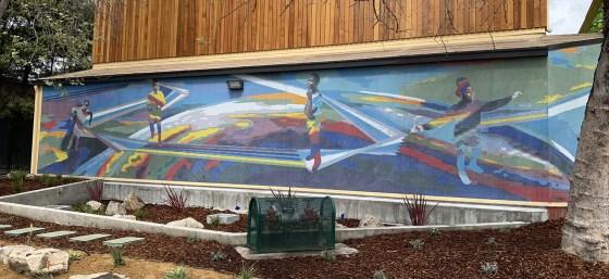 Rainbow Rec Center Mosaic landscape