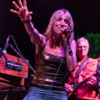 Johanna on stage at Shakti Fest