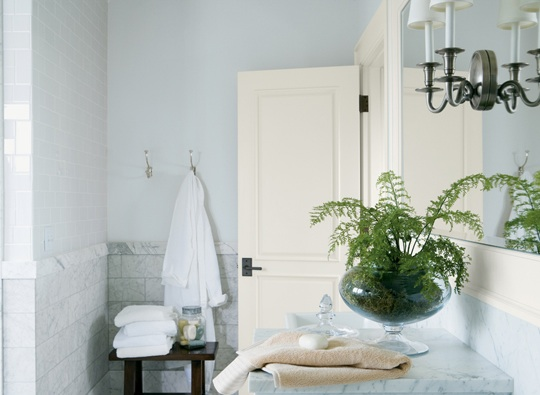 update the bathroom to a spa like retreat benjamin moore