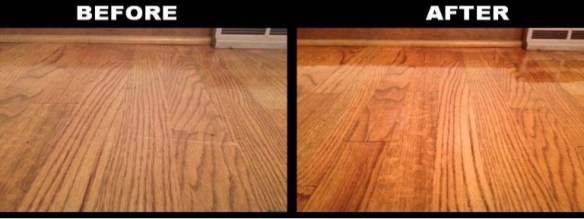 Hardwood floor refinishing 1