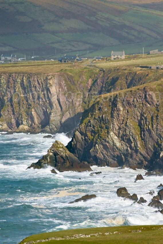 Sea cliffs, Dingle Peninsula