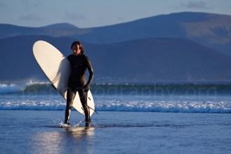 Surfer on Inch Strand, Dingle Peninsula (© Johann Brandstätter Photography)