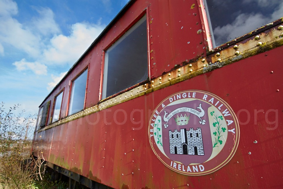 Tralee & Dingle Railway carriage