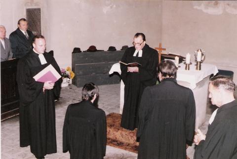 Anstellungsgottesdienst, Kirche Crock, 16.10.1983