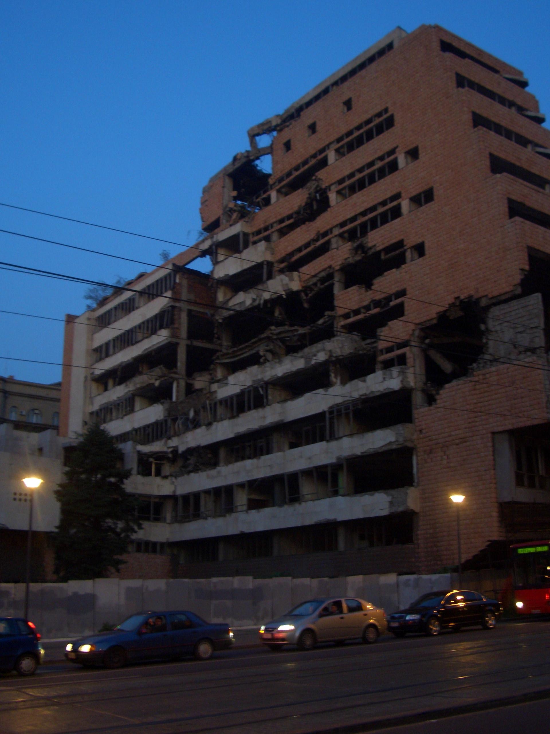 Ruine in Belgrad