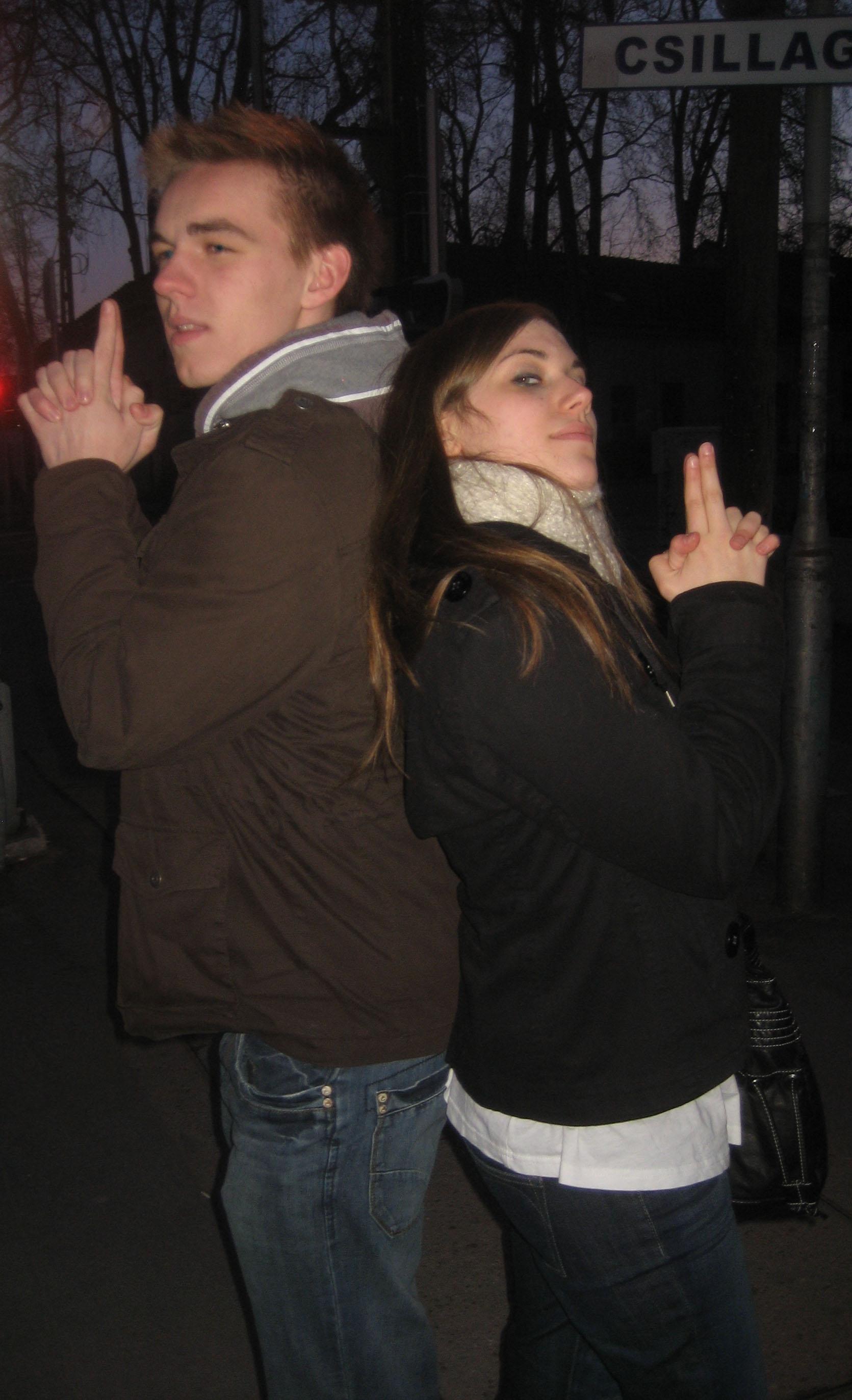 Mr. and Mrs. Smith alias Johannes und Lili