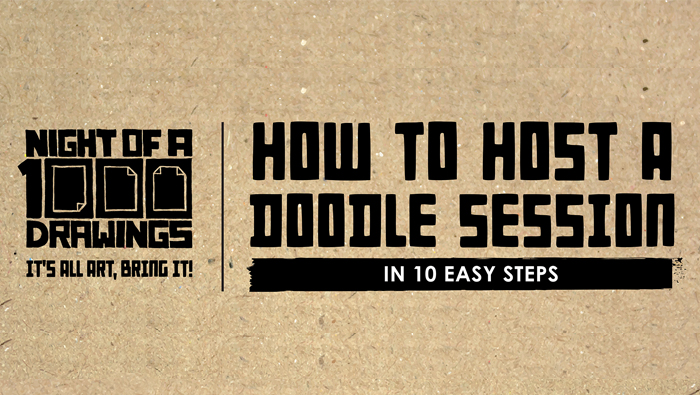 How to Host a Doodle Session: 10 Easy Steps