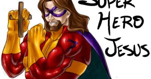 Superhero_JESUS_by_xxSharinganKakashixx