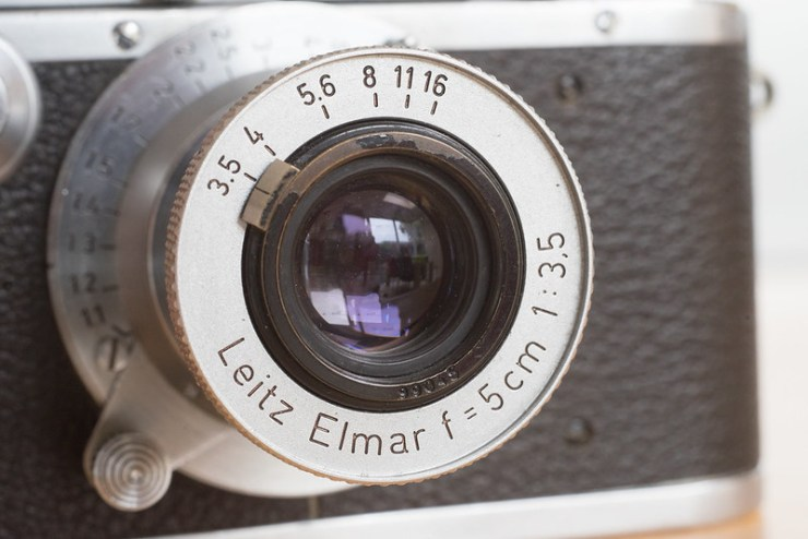 Leica no. 11378 conversion