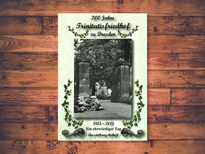 Titelbild der Broschüre 200 Jahre Trinitatisfriedhof