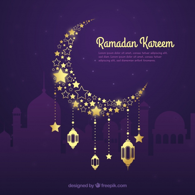 ramadan-background-with-golden-moon-in-hand-drawn-style_23-2147802776