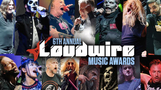 Loudwire 6th Annual Music Awards results