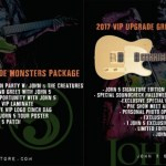 John 5 and The Creatures Halloween 2017 VIP package