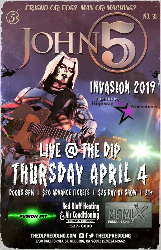 John 5 and The Creatures The Dip California Invasion 2019
