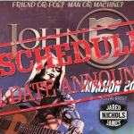 John 5 and The Creatures Invasion 2019 rescheduled tour dates