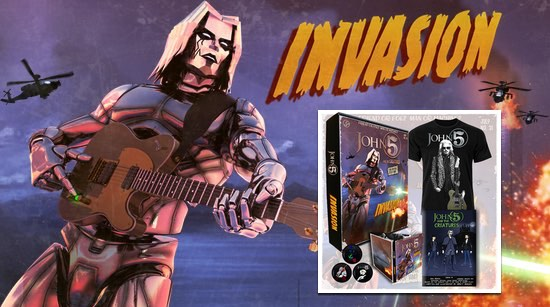 Pre Order Invasion John 5 and The Creatures digital and box set