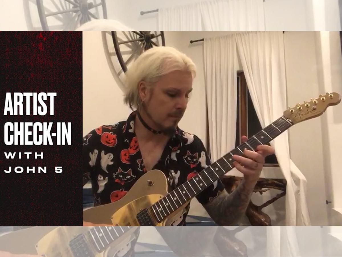 Fender Artist Checkin John 5