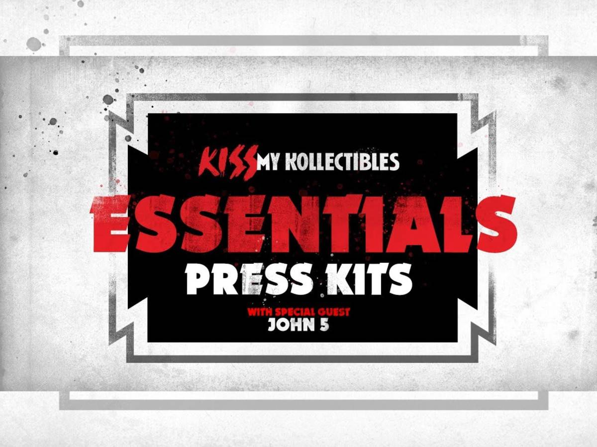 KISS My Kollectibles podcast John 5 Press Kits