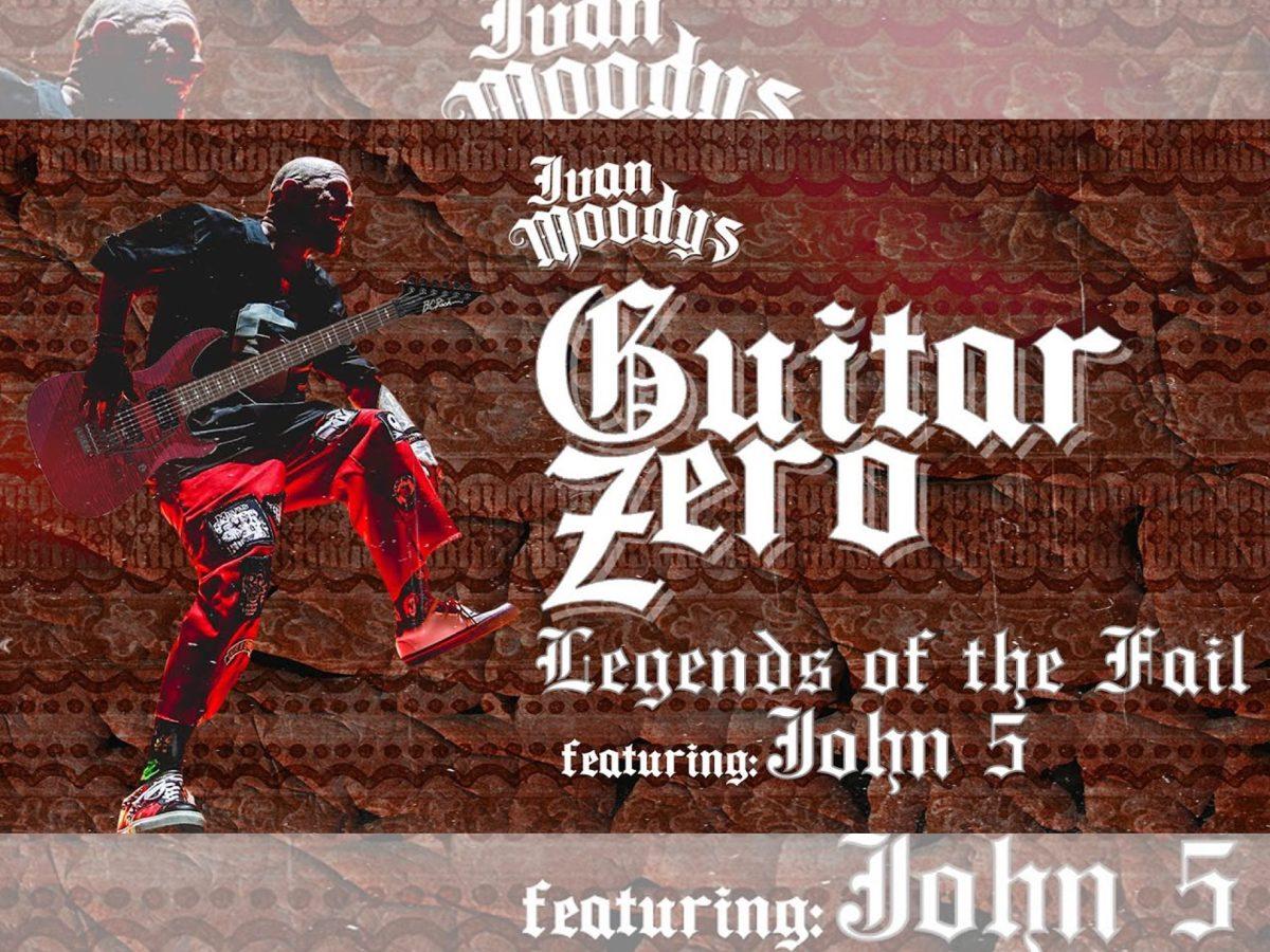 John 5 Five Finger Death Punch Guitar Zero Legends of the Fail