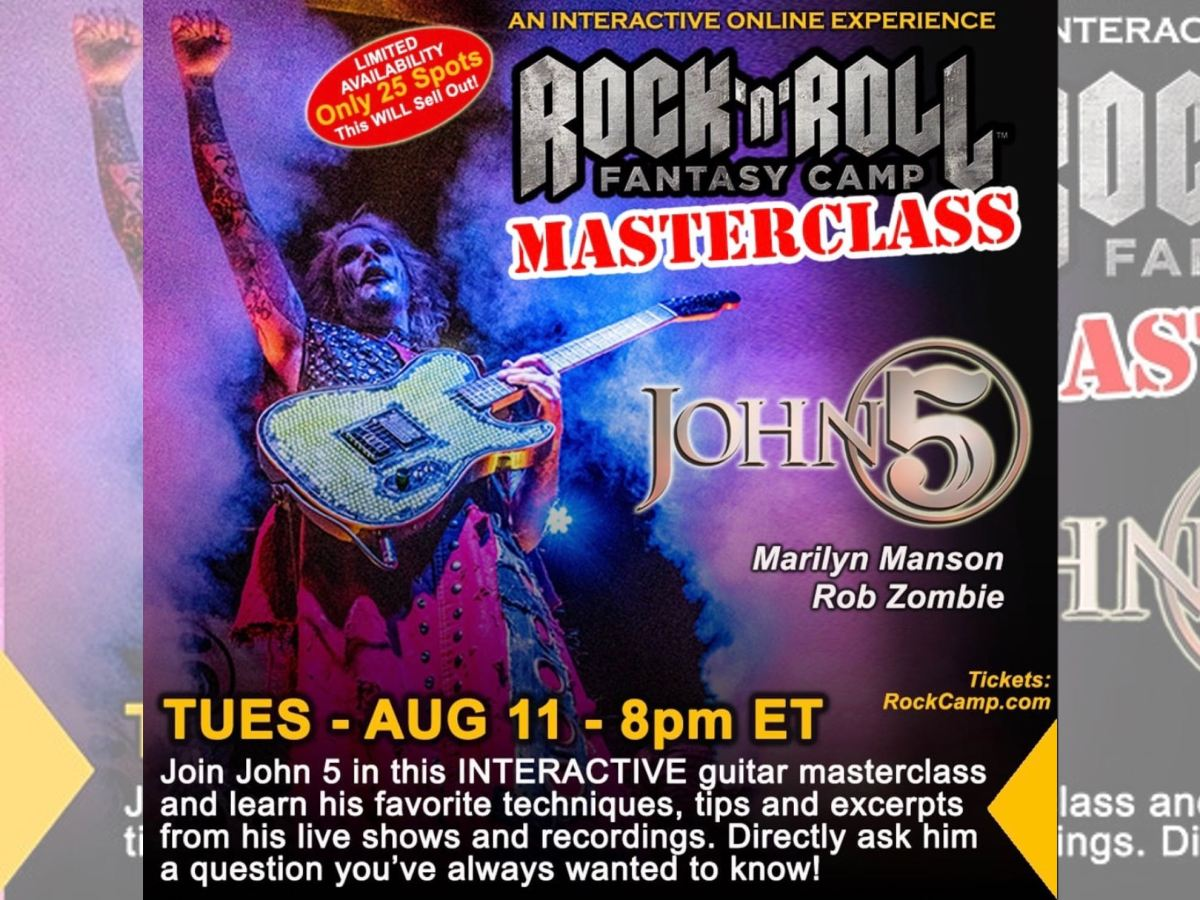 John 5 Rock N Roll Fantasy Camp Masterclass