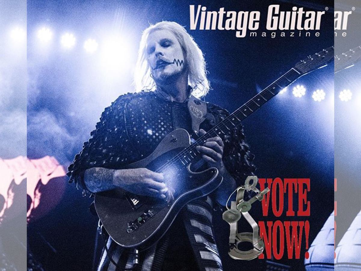 John 5 Vintage Guitar Magazine Readers Choice 2020