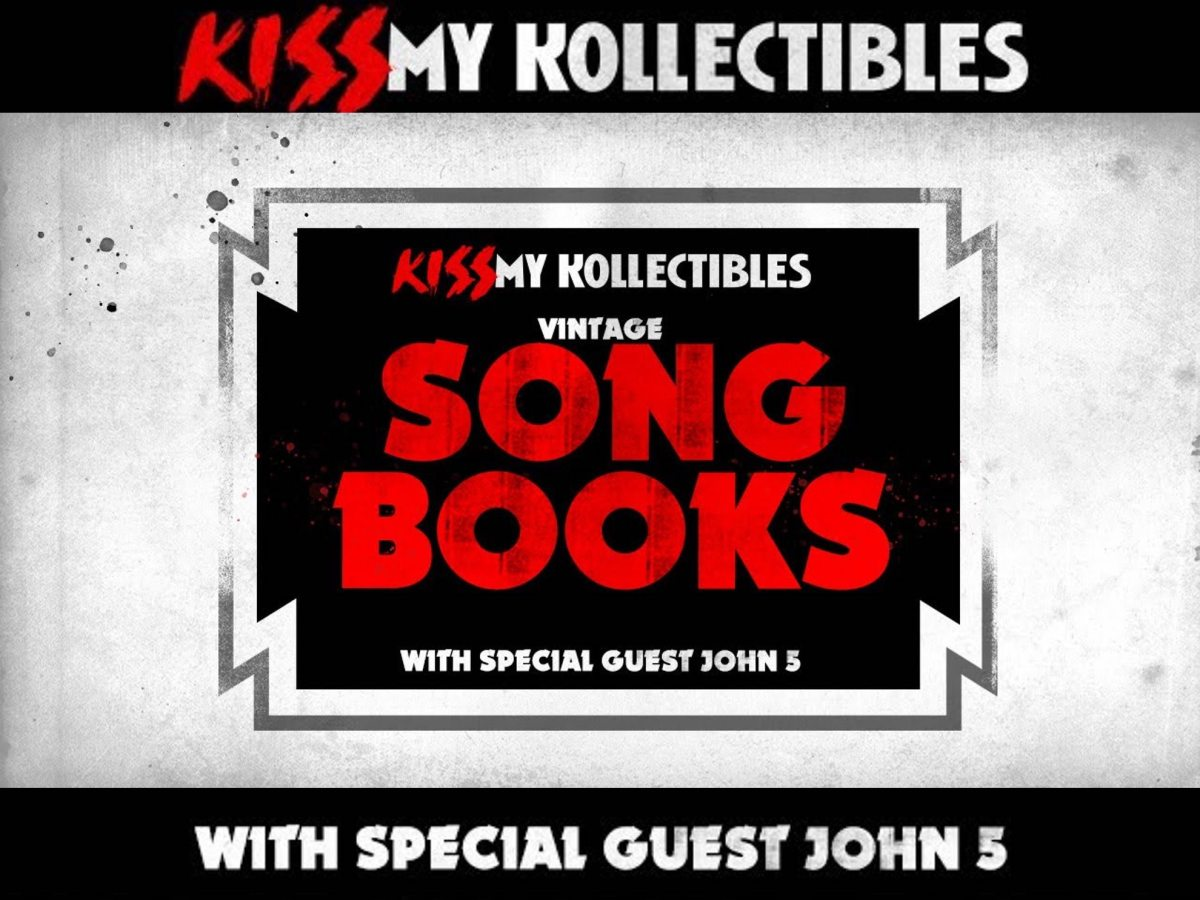 Kiss My Kollectibles John 5 Kiss songbooks