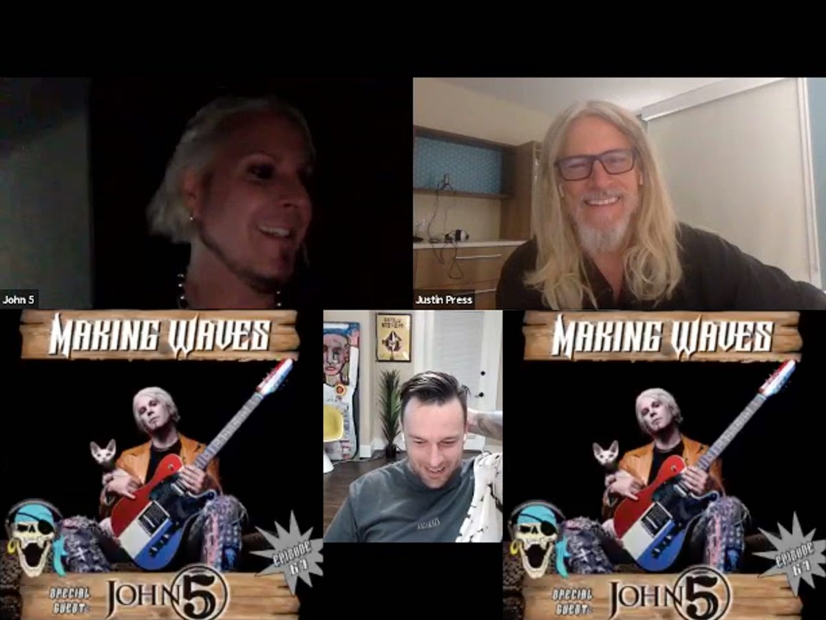 John 5 Making Waves Podcast Interview