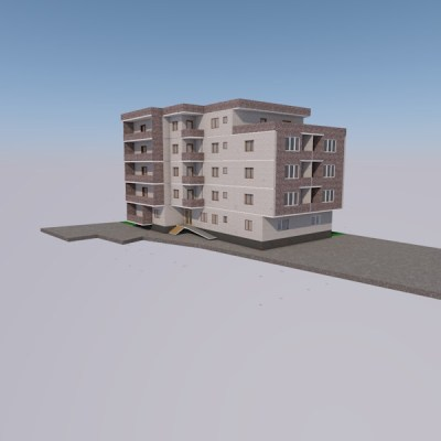Bloc nou cartier Gavana – zona blocuri – 74 m2