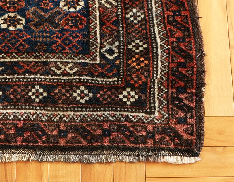 """Baluch Tribal Rug """"mihrab"""" 86×146cm"""