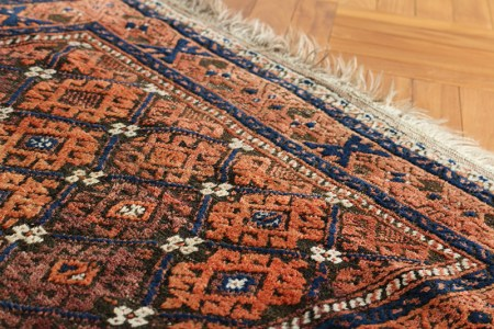 Baluch Tribal Rug 100×142