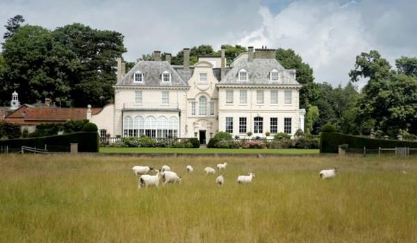 Neil Foster's residence, Lexham Hall, Norfolk