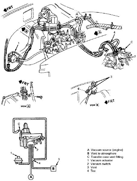 Chevy 305 Heater Hose Diagram