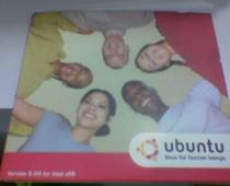 Ubuntu Linux CD - Front Cover