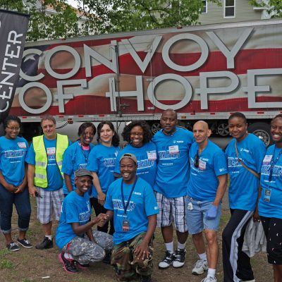 Convoy of Hope outreach event