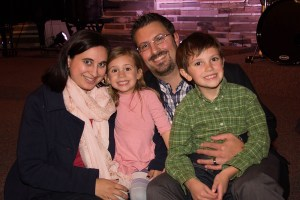 A pastor and his family