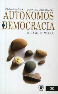 Book Cover: Organismos autónomos y Democracia