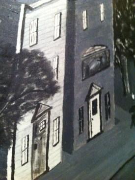 New England Street - detail