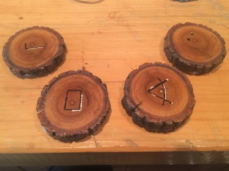 Maple coasters