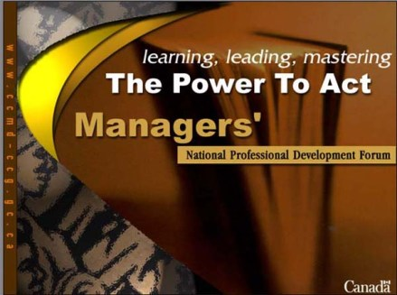Professional Development training content and presentations