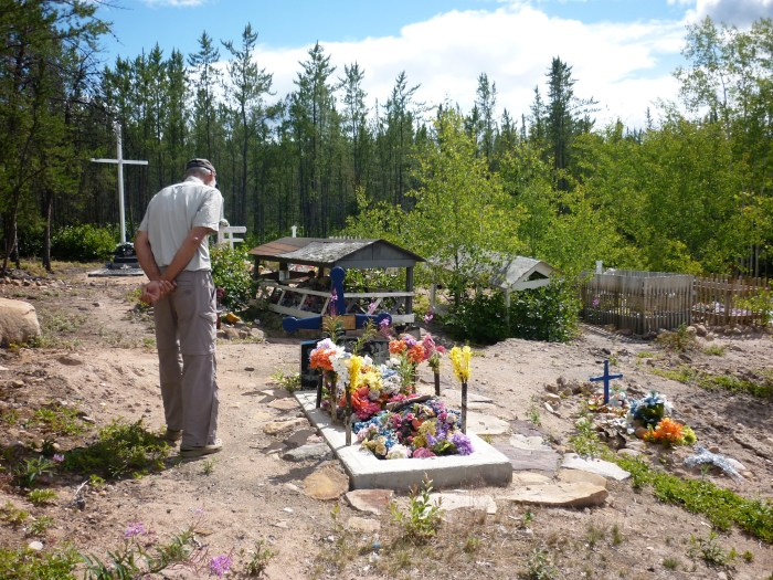 Cemetary, Black Lake First Nation