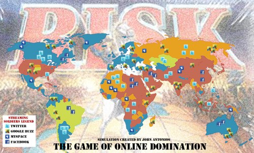 Social Media - The Game of Online Domination - by John Antonios