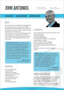 John Antonios - 1-Page Profile